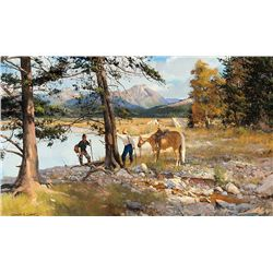 High Meadow Camp by Smith, Brett