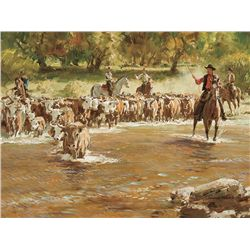 River Crossing by Teague, Donald