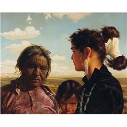 Navajo Women & Child by McGrew, R. Brownell