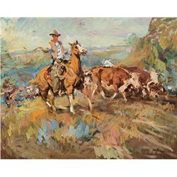 Bell Ranch Wrangler by Hoffman, Frank