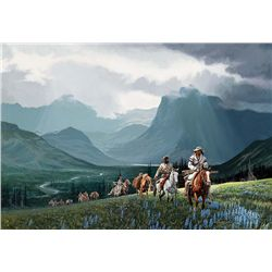 Climbing the Western Slope by Wright, David