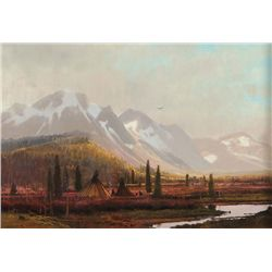 Valley Encampment by Coleman, Michael