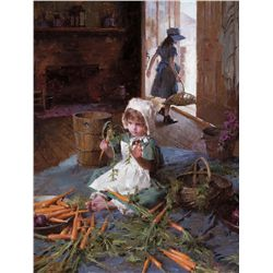 The Carrot Girl by Weistling, Morgan
