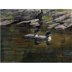A Pair of Loons by Bateman, Robert