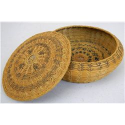 Navajo Trade Basket