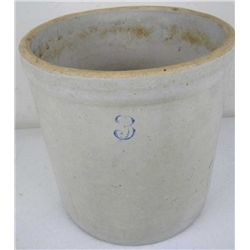 3 Gallon Stoneware Crock