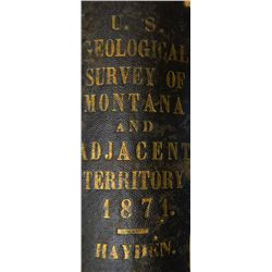 U.S. Geological Survey of Montana 1871
