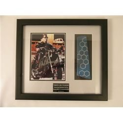 Terminator 3 Helicopter Tail/Schwarzenegger Signed Photo