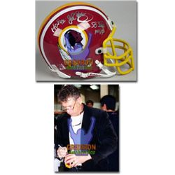 Signed-John Riggins Redskins Mini Helmet w/COA