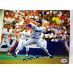 SIGNED-Fernando Valenzuela PSA/DNA 8x10 Photo