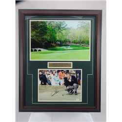 SIGNED-Arnold Palmer JSA COA Framed 2 photos