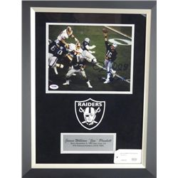 Signed-Jim Plunkett Raiders Custom w/COA