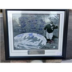 "Casey Stengel ""Ole Professor"" Photo Signed by Mets"