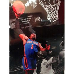 NY KNICKS AMARE STOUDEMIERE 16x20 Custom Framed