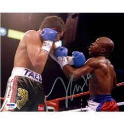 SIGNED-Julio Cesar Chavez 8x10 PSA/DNA