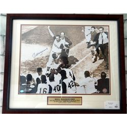Bill Mazeroski Framed Signed Photo