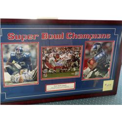 SIGNED-NY Giants Super Bowl Multiple Players