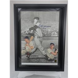 SIGNED-Ted Williams Lithograph w/COA PSA/DNA &LOA