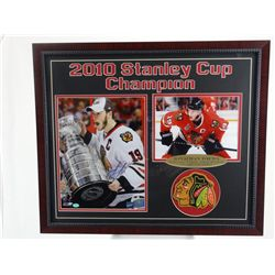 Signed-Jonathon Toews Bruins Stanley Cup w/COA