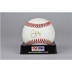 SIGNED-Shane Victorino Baseball PSA/DNA