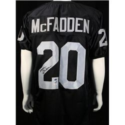 SIGNED-Darren McFadden Raiders Custom 3 COAs