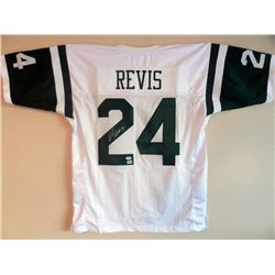 SIGNED-Darelle Revis JETS Custom Jersey 2 COAs