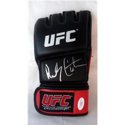 SIGNED-Randy Couture UFC Glove PSA/DNA COA