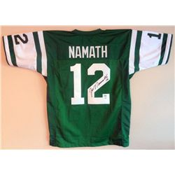 SIGNED-Joe Namath Jets Custom Jersey 2 COAs
