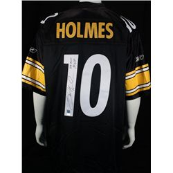 SIGNED-Santonio Holmes Steeler's Jersey PSA/DNS