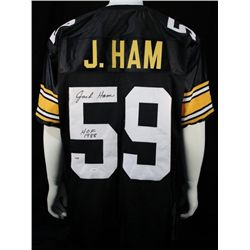 Jack Ham Signed Steelers Custom JSA COA