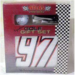 Kurt Busch Atlas Motor Sports Signature Golf Set