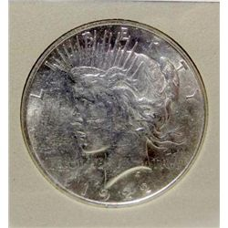 1922 Peace Silver Dollar MS-67+ w/Appraisal