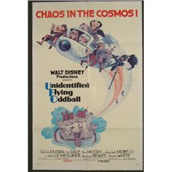Unidentified Flying Oddball 1 Sh Disney Movie Poster