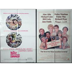 The Thief Who Came To Dinner & CA Suite Movie Posters