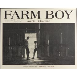 Farm Boy Signed Poster Archie Lieberman Man-to-Man