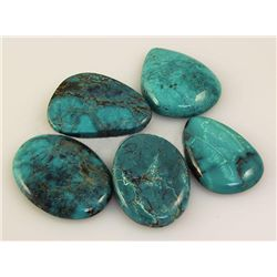 Natural Turquoise 215.92ctw Loose Gemstone 3pc Big Size