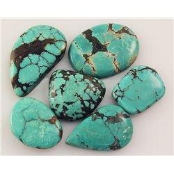 Natural Turquoise 155.70ctw Loose Small Gemstone Lot of