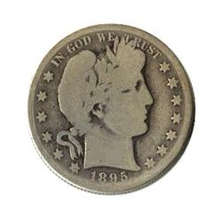 Early Type Barber Half Dollar 1892-1899 G-VG