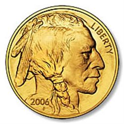 One Ounce 2006 Gold Buffalo Coin Uncirculated