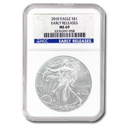 2009 Silver American Eagle (NGC MS-69)
