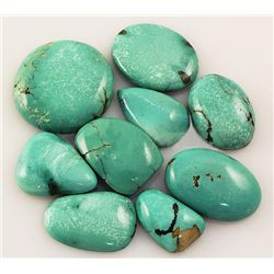 Natural Turquoise 164.20ctw Loose Small Gemstone Lot of