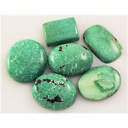 Natural Turquoise 153.96ctw Loose Small Gemstone Lot of