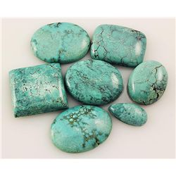 Natural Turquoise 163.90ctw Loose Small Gemstone Lot of