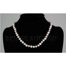 136.90CTW Mutli Color Freshwater Pearl Necklace