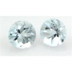 8mm GENUINE FACETED AAA - NATURAL AQUAMARINE