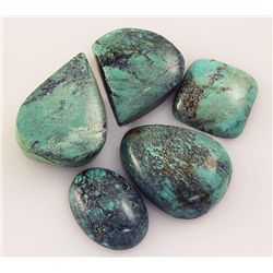 Natural Turquoise 152.90ctw Loose Small Gemstone Lot of