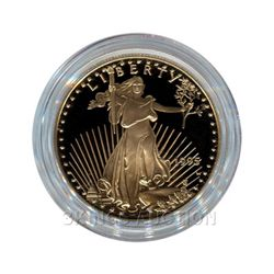 Proof American Gold Eagle Half Ounce - In Capsule (Date