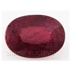 6.79ctw African Ruby Loose Gemstone