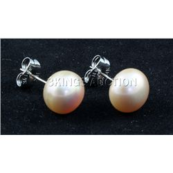 15.01CTW LAVENDER RICE PEARL EARRING PHILIPPINES