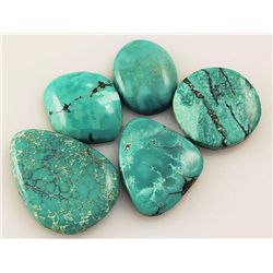 Natural Turquoise 151.93ctw Loose Small Gemstone Lot of